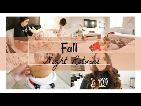 Solo Fall Mommy Night Routine | Stay-at-Home Mom