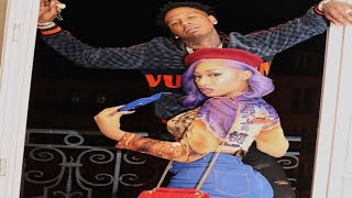 Megan Thee Stallion And Moneybagg yo Lets Everybody Know Their A Couple