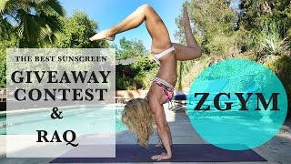 The Best Sunscreen Giveaway and Recently Asked Questions!!