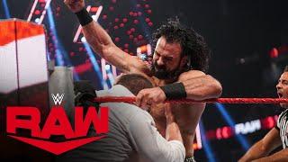 Drew McIntyre vs. Baron Corbin: Raw, Aug. 9, 2021