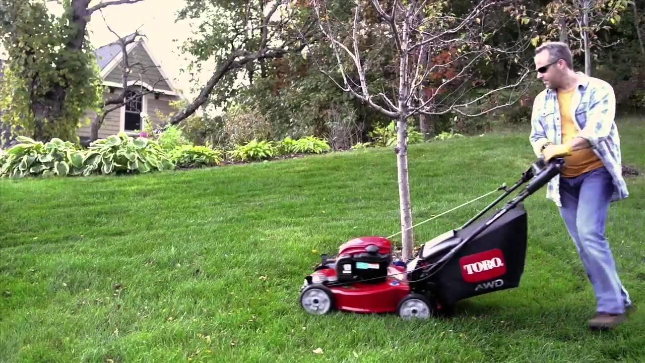 New Toro Recycler 174 22 Inch All Wheel Drive Walk Power