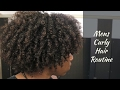 Mens Natural Curly Hair Routine: Back To Natural