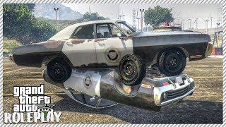 GTA 5 ROLEPLAY - $1,200 OLD COP CAR CHALLENGE | Ep. 165 Civ