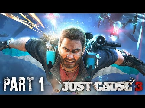 Just Cause 3 Sky Fortress Gameplay Walkthrough Part 1 - CRAZY WINGSUIT UPGRADE (DLC)