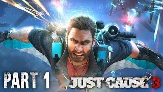 Just Cause 3 Sky Fortress Gameplay Walkthrough Part 1 - CRAZY WINGSUIT UPGRADE (DLC)