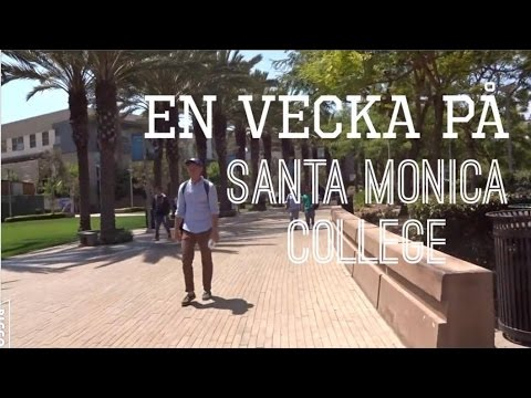Santa Monica College skolvecka (Vårterminen 2016)