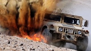 A-10 Warthog Obliterates Humvee Drone
