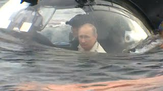 Russia: Underwater Govt? Medvedev surprises Putin at bottom of Black Sea