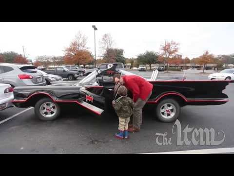 Doctor Seeks To Use Homemade Batmobile For Make-a-Wish Children
