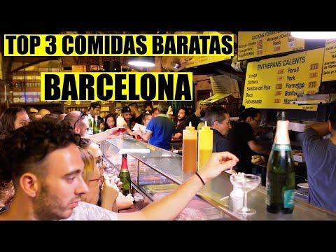 Dónde comer barato en Barcelona