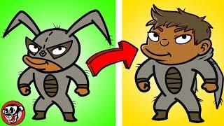 15 Rostros ANIMADOS Que NO CONOCÍAS REVELADOS! thumbnail
