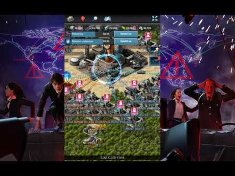 Mobile Strike CONTROL POINT BATTLE AT END OF SvS KILL EVENT
