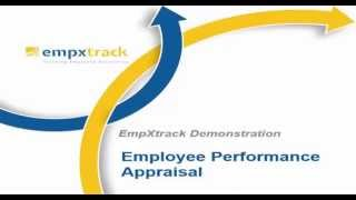 This video takes you through empxtrack performance appraisal system a complete employee-manager-hr workflow and the setup of appraisa...