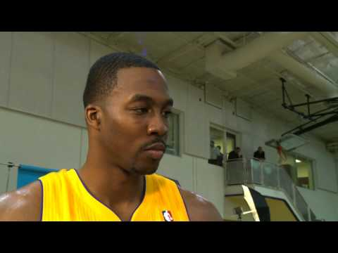 Dwight Howard Media Day Interview