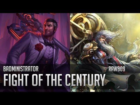 Badministrator - Fight of the Century (ft Rawb09)