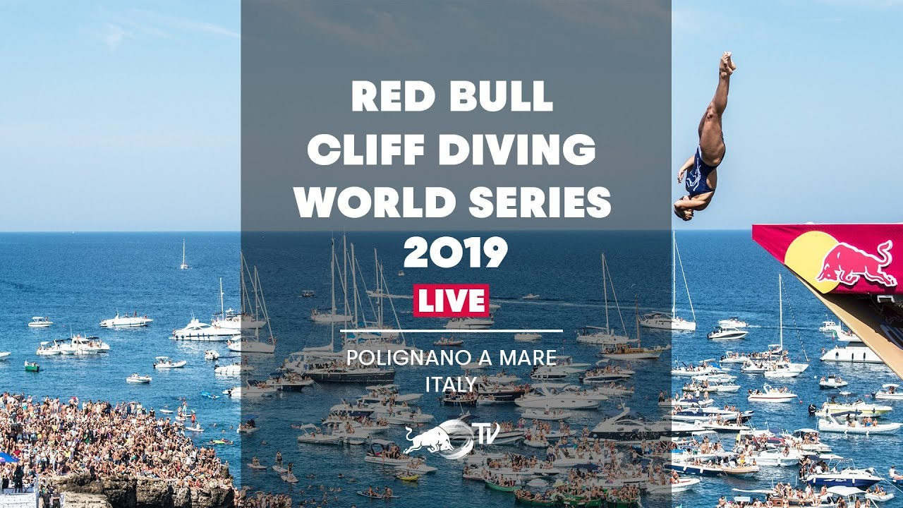 Red Bull Cliff Diving World Series 2019 LIVE | Polignano a Mare, Italy