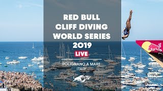 Red Bull Cliff Diving World Series 2019 REPLAY | Polignano a Mare, Italy
