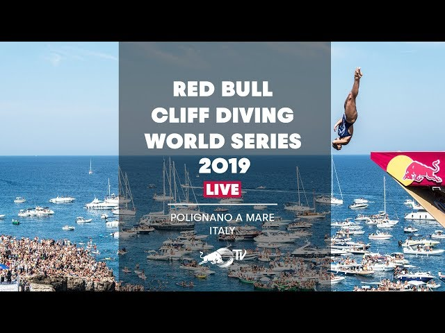 Red Bull Cliff Diving World Series 2019 REPLAY   Polignano a Mare, Italy