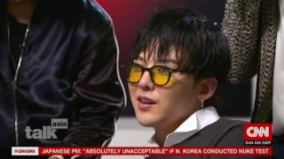 [FULL Interview HD] BIGBANG CNN Talk Asia Interview TV broadcast 2016-09-08