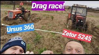 Drag race as you have never seen! 1 on 1 - Rally Champion vs Pro drifter