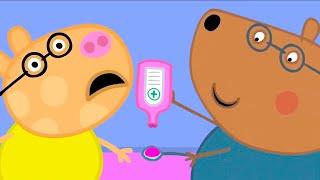 Свинка Пеппа на русском все серии подряд | Доктор Медведь вылечит всех! | Мультики