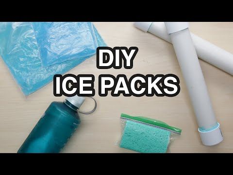 DIY Ice Pack 4 Ways