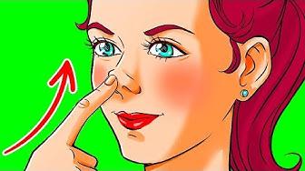 Hãy đẩy mũi của bạn lên trong 1 phút và xem điều gì sẽ xảy ra