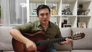 Juno Reactor Pistolero, разбор на гитаре, испанская гитара, часть 1