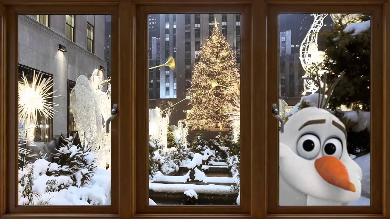 Christmas Window 2014 - YouTube