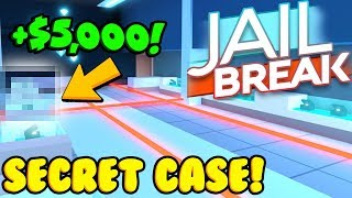 *SECRET* CASE GLITCH IN NEW JEWELRY STORE! (Roblox Jailbreak)