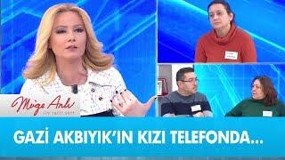 Gazi Akbıyık'ın kızı telefonda... - Müge Anlı ile Tatlı Sert 13 Şubat 2019