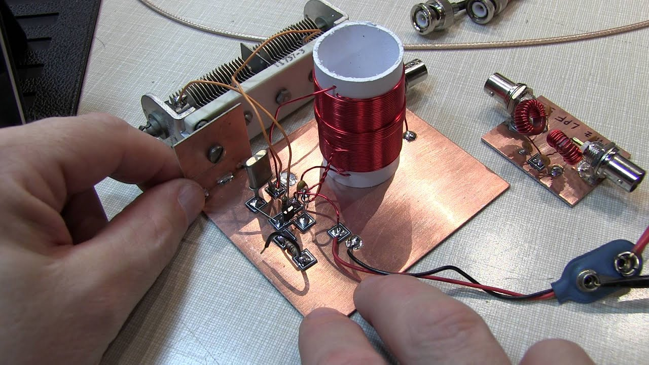 #228: Radio Fun: Michigan Mighty Mite CW transmitter and a low pass filter