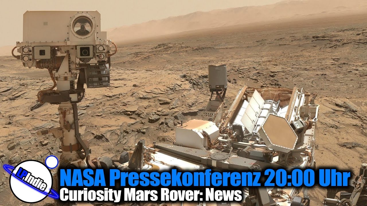 Nasa Pressekonferenz Mars