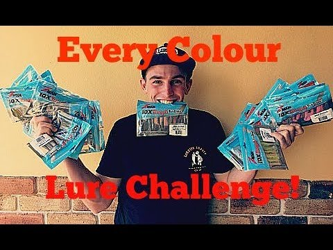 Every Colour Lure Challenge!!