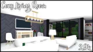 Cozy Living Room || Roblox Speed Build || SPN