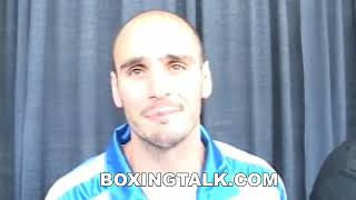 Kelly Pavlik breaks down Miranda fight before stopping him Boxingtalk Classic