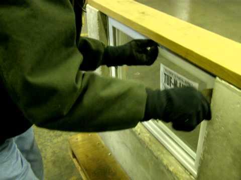 Dalaco Materials basement window install part 2.MOV