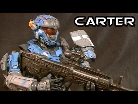 Play Arts Kai Halo Reach CARTER Figure Review