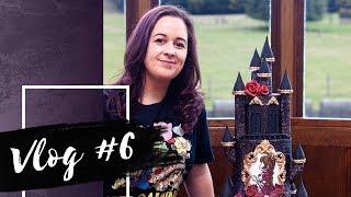 Peach and Her Plumber | VLOG #6 | Allerton Castle, Gothic Cake | Cherry Vlog