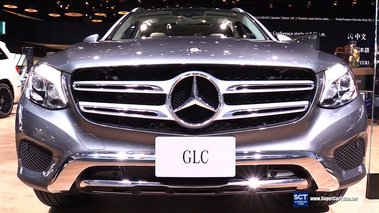 2016 mercedes benz glc class glc300 suv exterior and interior walkaround 2016 detroit auto show youtube