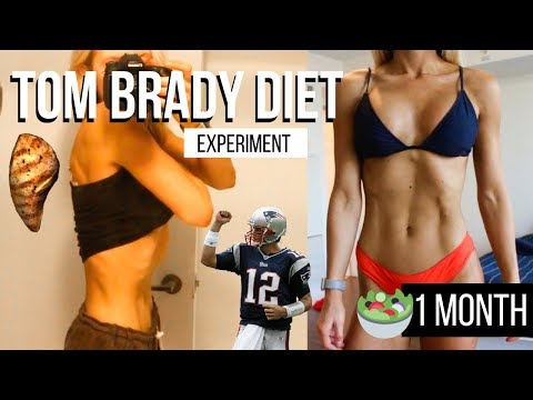 I did Tom Brady's INSANE diet for a month and LOST TOO MUCH WEIGHT