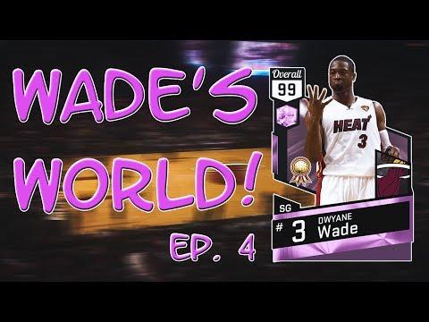 SO MANY UPGRADES! WADE'S WORLD EP. 4! NBA 2K17 MYTEAM