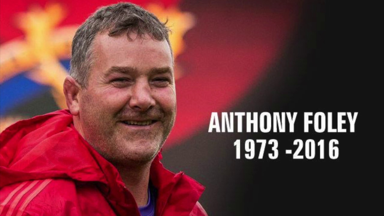Honouring Anthony Foley | Cork's RedFM 104-106