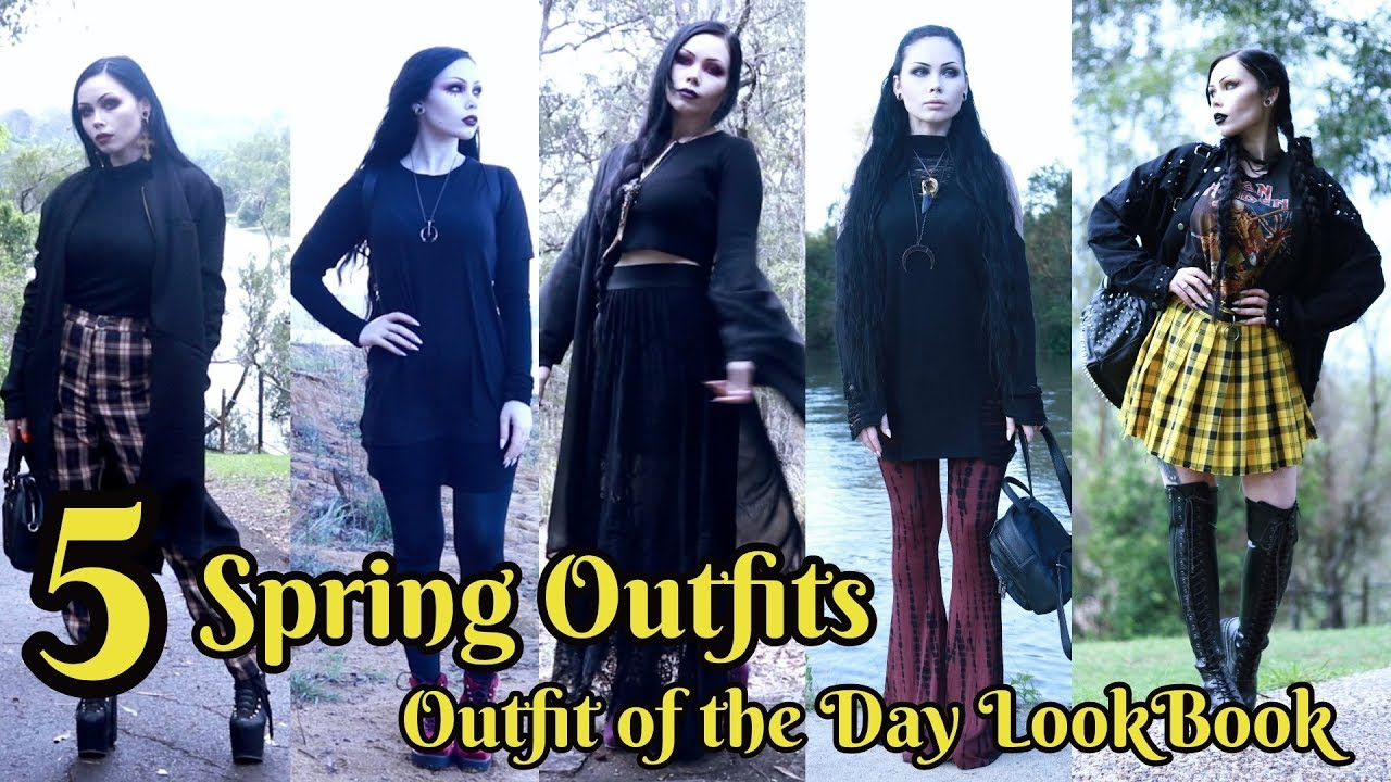 5 Spring Outfits - Outfit of the Day Look-book || ReeRee Phillips 9