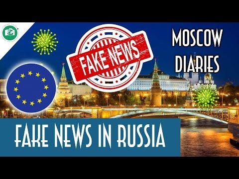 Le FAKE NEWS in RUSSIA sull'EUROPA