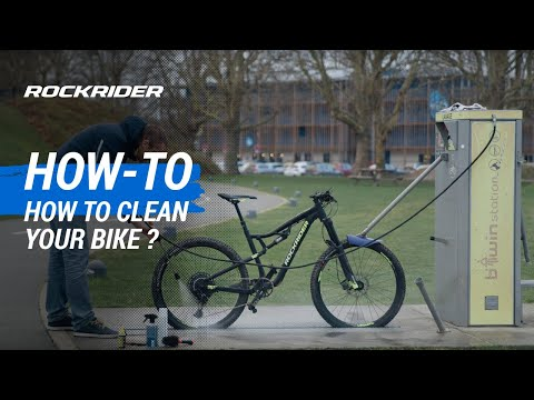 TUTO 🔧 How to clean your bike? By ROCKRIDER