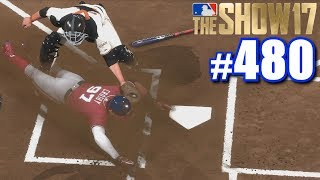 INCREDIBLE TAG BY BUSTER POSEY! | MLB The Show 17 | Road to the Show #480