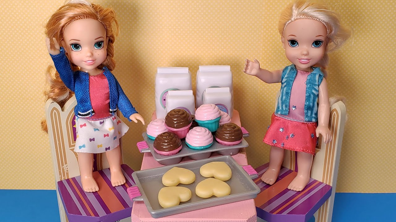 Download Baking for Elsa! Anna & Elsa toddlers - sweet treats