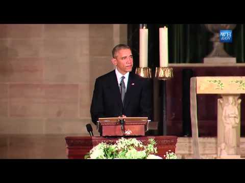 "President Obama Delivers Beau Biden Eulogy, Obama: ""Beau Biden Was An Original"""