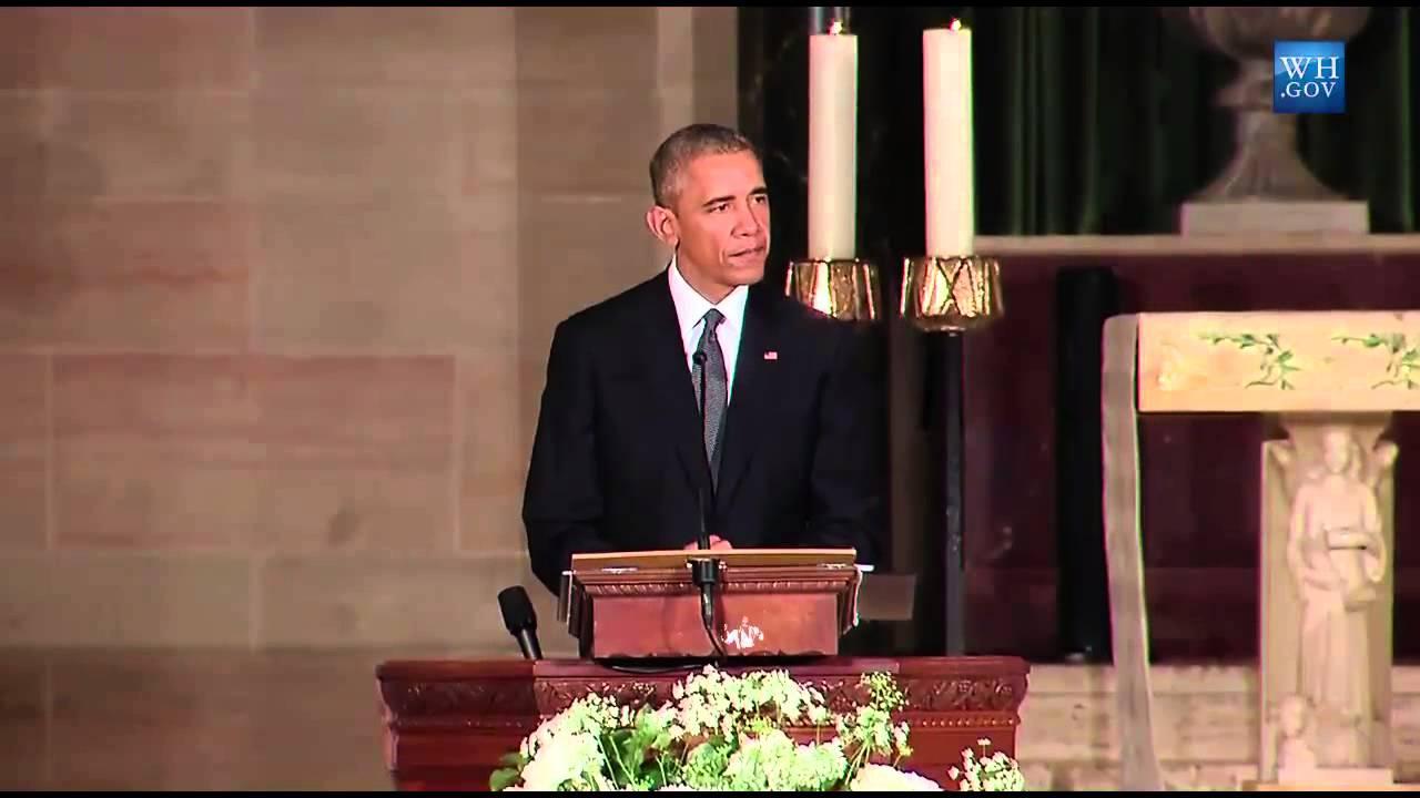 President Obama Delivers Beau Biden Eulogy Obama Beau Biden Was An Original Youtube